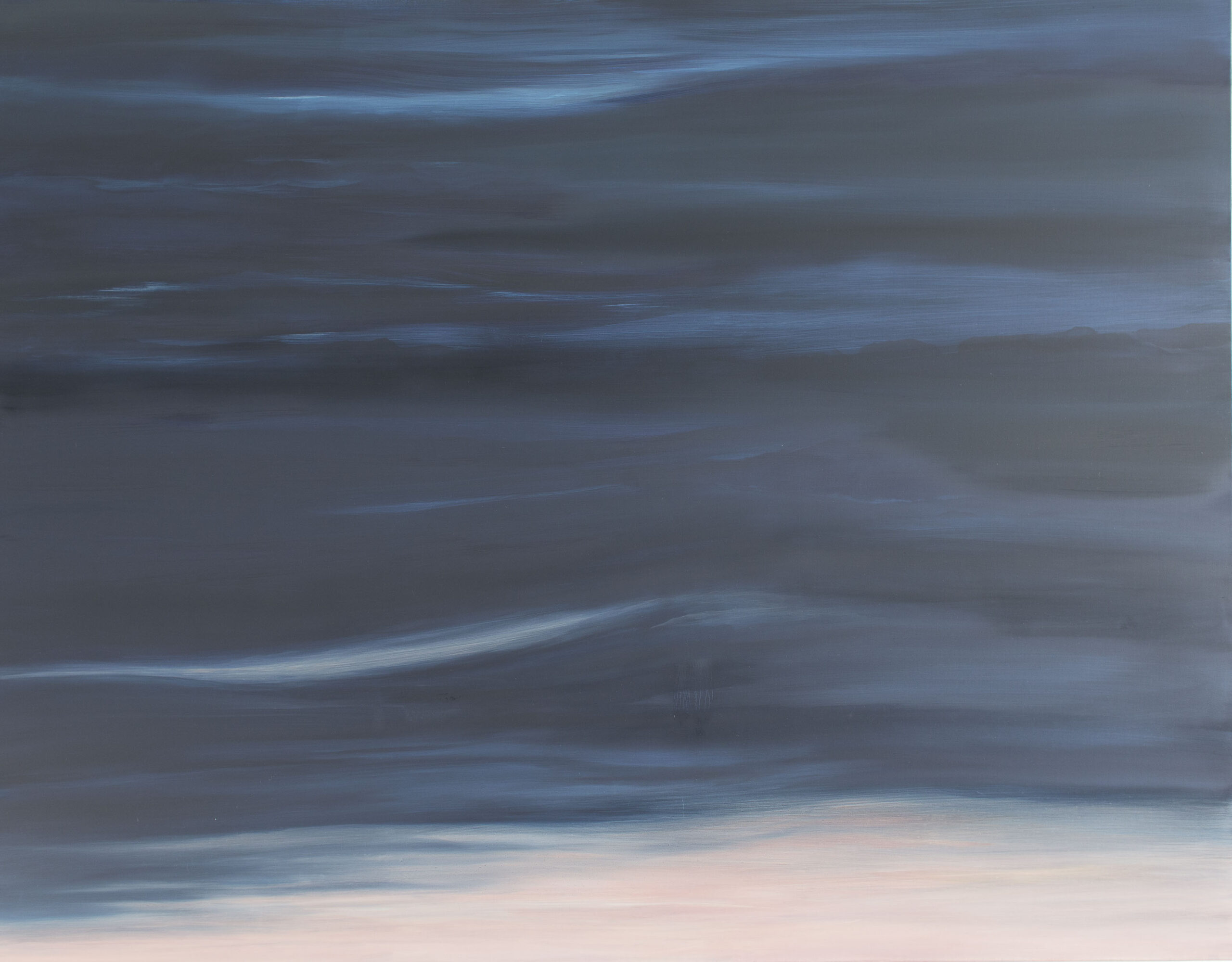 'And So it Goes'. Oil on canvas. 160cm x125cm x4cm £600