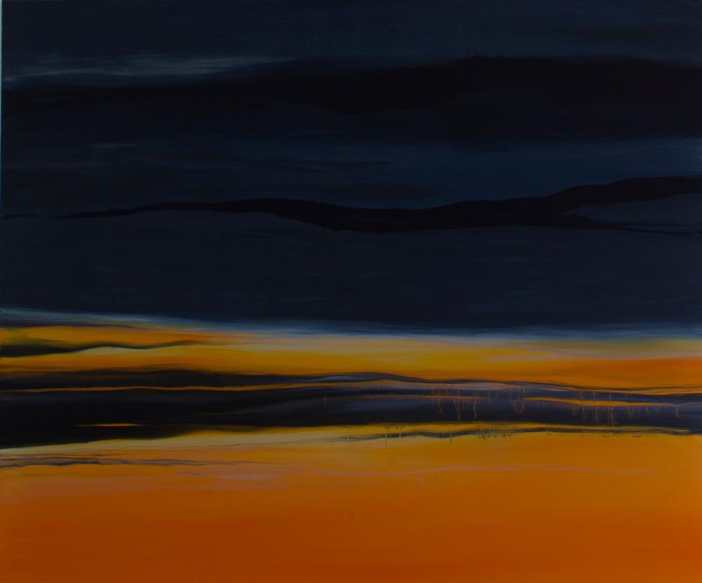 'Brief Light'. Oil on canvas. 120 cm x 100cm. £450