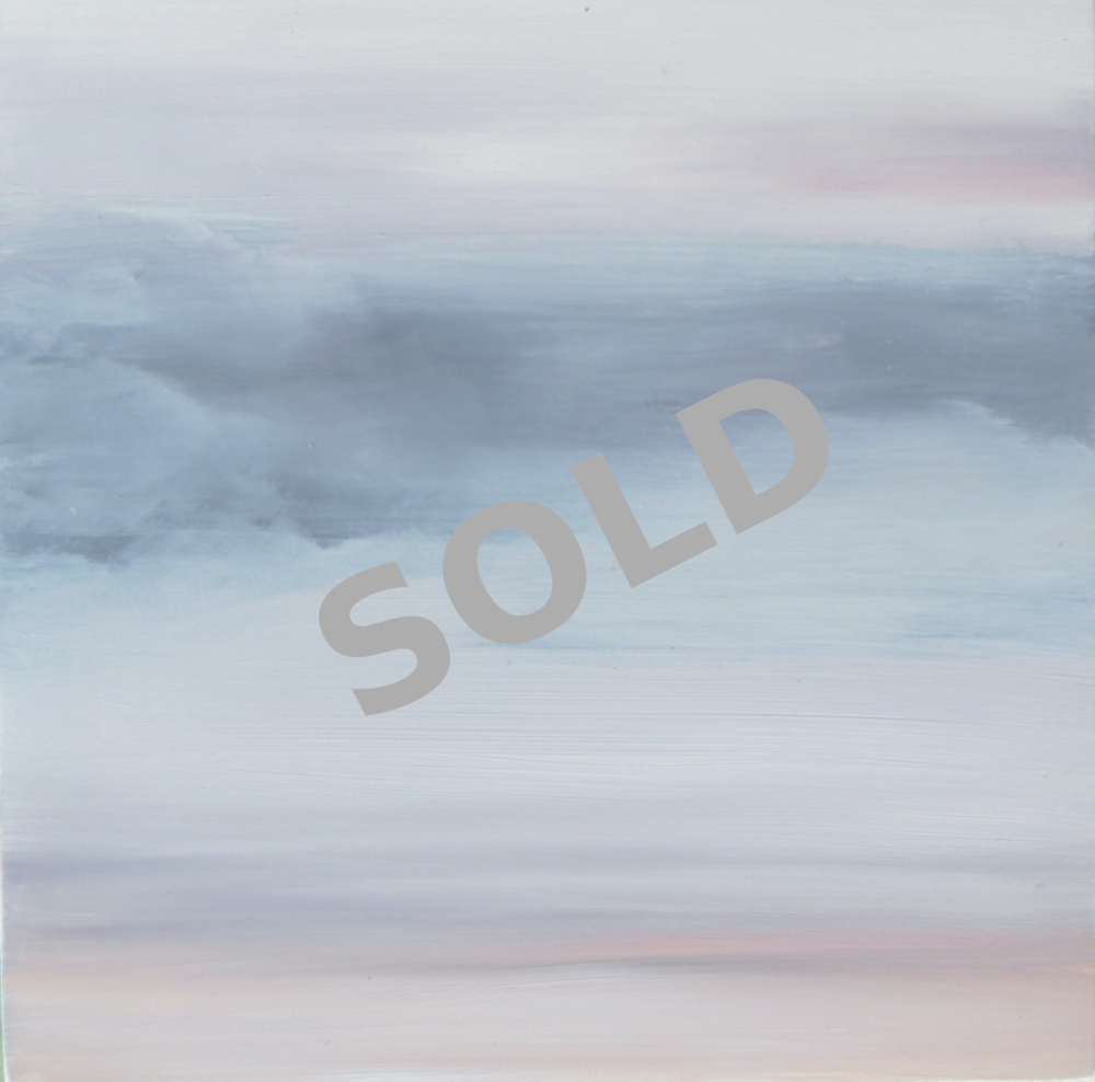 Dawn Clouds, 20cm x 20cm x 4cm 0il on board. £120 SOLD